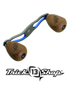 Trickshop Gunsmoke/Blue Handle Assembly