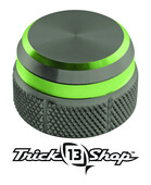 Trickshop Gunsmoke/Lime Cast Control Cap