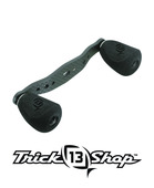 Trickshop Carbon Matte Black KP Handle assembly w/EVA Knobs