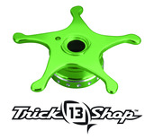 Trickshop Lime/Silver Star Drag