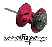 Trickshop Red/Black Spool Assembly