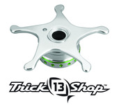 Trickshop Silver/Lime Star Drag