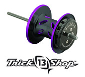 Trickshop Black/Purple Spool Assembly