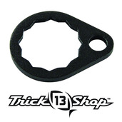 Trickshop Matte Black Handle Nut Lock