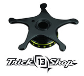 Trickshop Black/Yellow Star Drag