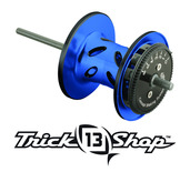 Trickshop Blue/Black Spool Assembly