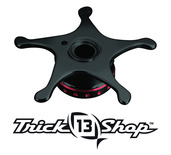 Trickshop Black/Red Star Drag