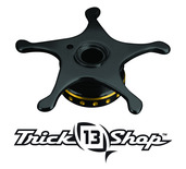 Trickshop Black/Gold Star Drag