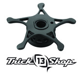 Trickshop Matte Black KP Alumite Ultra-light Star Drag