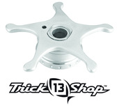 Trickshop Brushed Silver Star Drag
