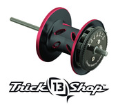 Trickshop Black/Red Spool Assembly