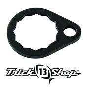 Trickshop Matte Black Handle Nut Lock