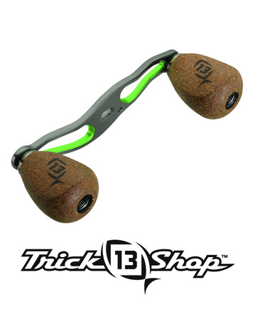 Trickshop Gunsmoke/Lime Handle Assembly picture