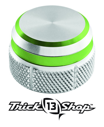 Trickshop Silver/Lime Cast Control Cap picture