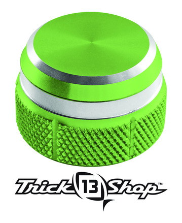 Trickshop Lime/Silver Cast Control Cap picture