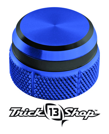 Trickshop Blue/Black Cast Control Cap picture