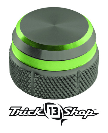 Trickshop Gunsmoke/Lime Cast Control Cap picture