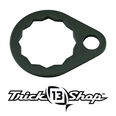 Trickshop Black Handle Nut Lock picture