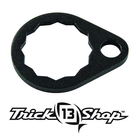 Trickshop Matte Black Handle Nut Lock picture