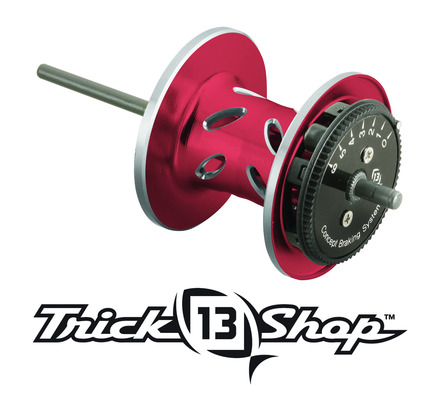 Trickshop Red/Silver Spool Assembly picture