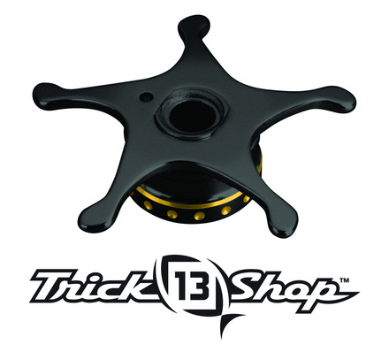 Trickshop Black/Gold Star Drag picture