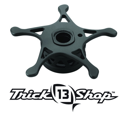 Trickshop Matte Black KP Alumite Ultra-light Star Drag picture