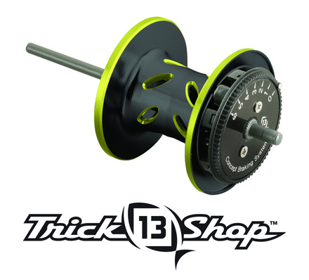 Trickshop Black/Yellow Spool Assembly picture