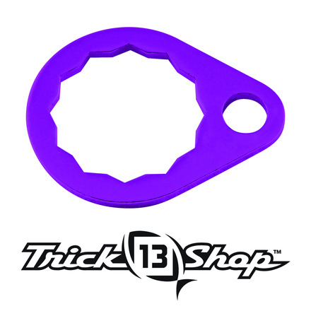 Trickshop Purple Handle Nut Lock picture