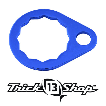 Trickshop Blue Handle Nut Lock picture