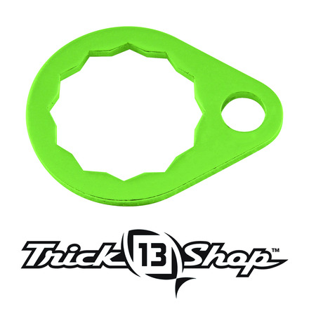 Trickshop Lime Handle Nut Lock picture