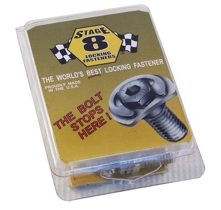 "#8911A  SB CHEVY HEADER BOLT KIT W/1"" BOLT picture"