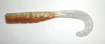 "7"" Monarch Grub #263 Brown Back Sardine picture"