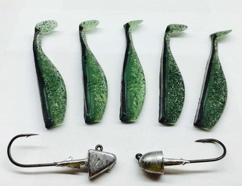SWIMBAIT KITS GREEN BACK CHOVY picture