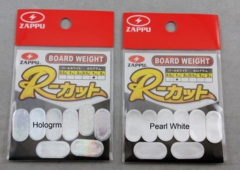 BOARD WEIGHT  R CUT   1.0g-Pearl white picture