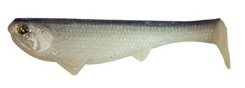 "Boom Boom Weedless Swimbait 6"" 1.4 oz #500 SHAD picture"