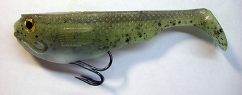 2 PIECE PACKAGE 3'' Baby Line Thru #558 GOBY picture