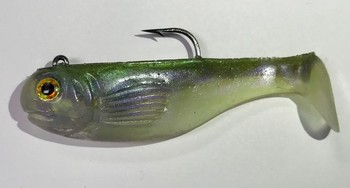 3.5'' Original Optimum #565 Ghost Minnow picture