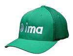 ima Green FLEXFIT ULTRAFIBRE AIRMESH CAP