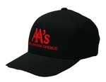 AA's - The Lunkers Choice Black/Red Flex Fit Hat