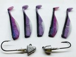 SWIMBAIT KITS PELAGIC PURPLE