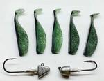 SWIMBAIT KITS GREEN BACK CHOVY