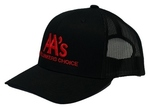 AA's - The Lunkers Choice Black/Red Trucker Hat