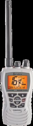 6 Watt Floating VHF Radio, White picture