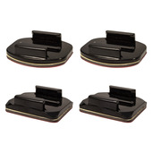 Flat & Curved Sockets (Pack of 4, 2 curved / 2 flat)