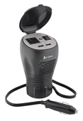 Cup-holder Design 200 Watt Power Inverter