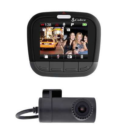 CDR 895 D Drive HD Dual Channel Dash Cam picture