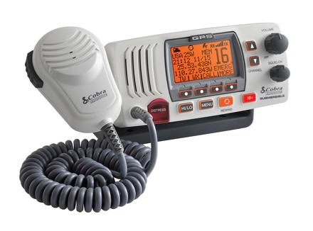 25 Watt Class-D Fixed Mount VHF Radio, White picture