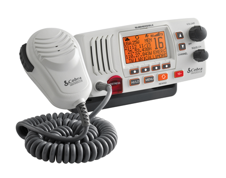 MR F57W – 25 Watt Class-D Fixed Mount VHF Radio, White picture