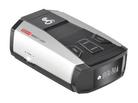 SPX 6700 Ultra-High Performance Radar/Laser Detector White Display & Voice picture