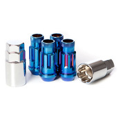32902UN - BURNED BLUE - SR48 OPEN END LOCK SET: 12X1.5